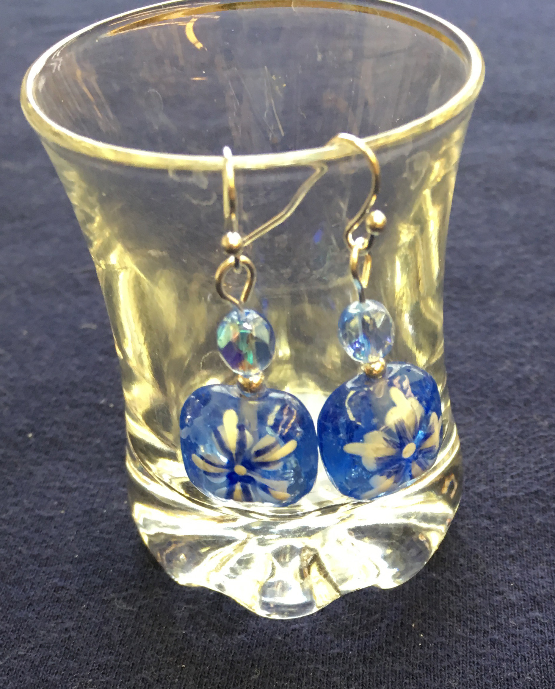 crystal zoom fullxfull hand hpoc listing earrings resin miniature blue il flowers painted